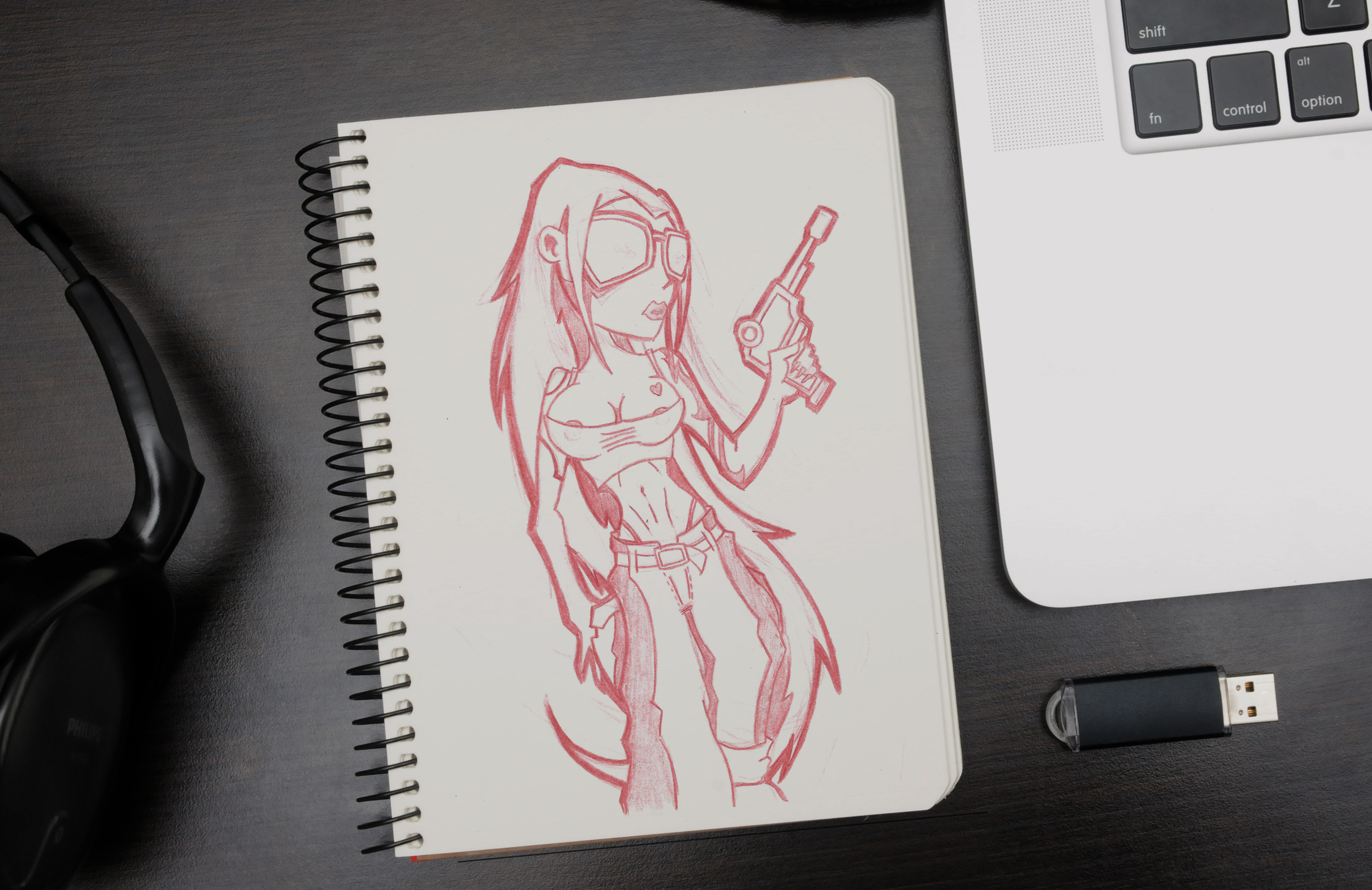 Notebook for drawing